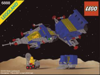 Classic Space Set 6888