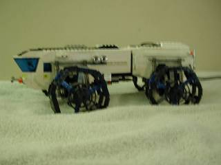 Motorized Articulated Rover